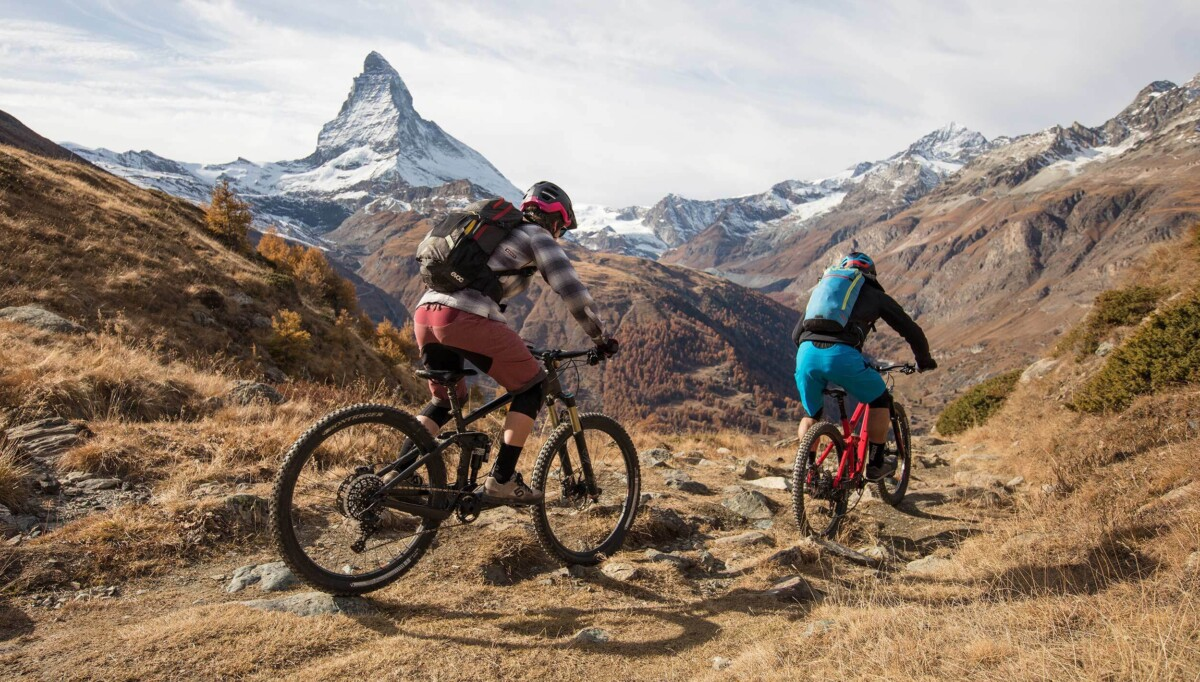 Mountainbiken in Zermatt
